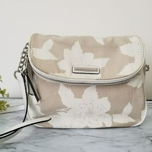 Dana Buchman Wendy Crossbody Bag White & Cream